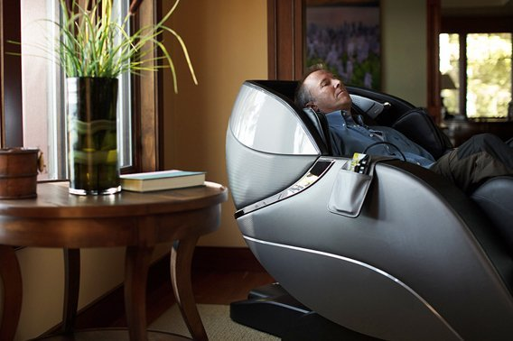 Heated Massage Chairs