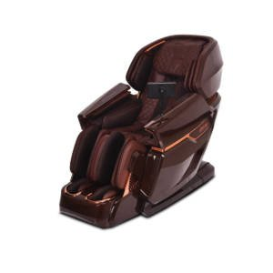 A Photo of a Kahuna Elite Massage Chair Brown